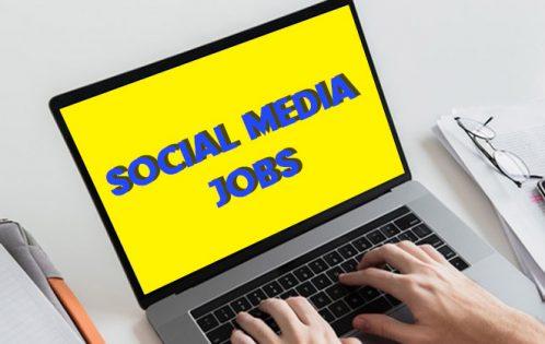 social media jobs october